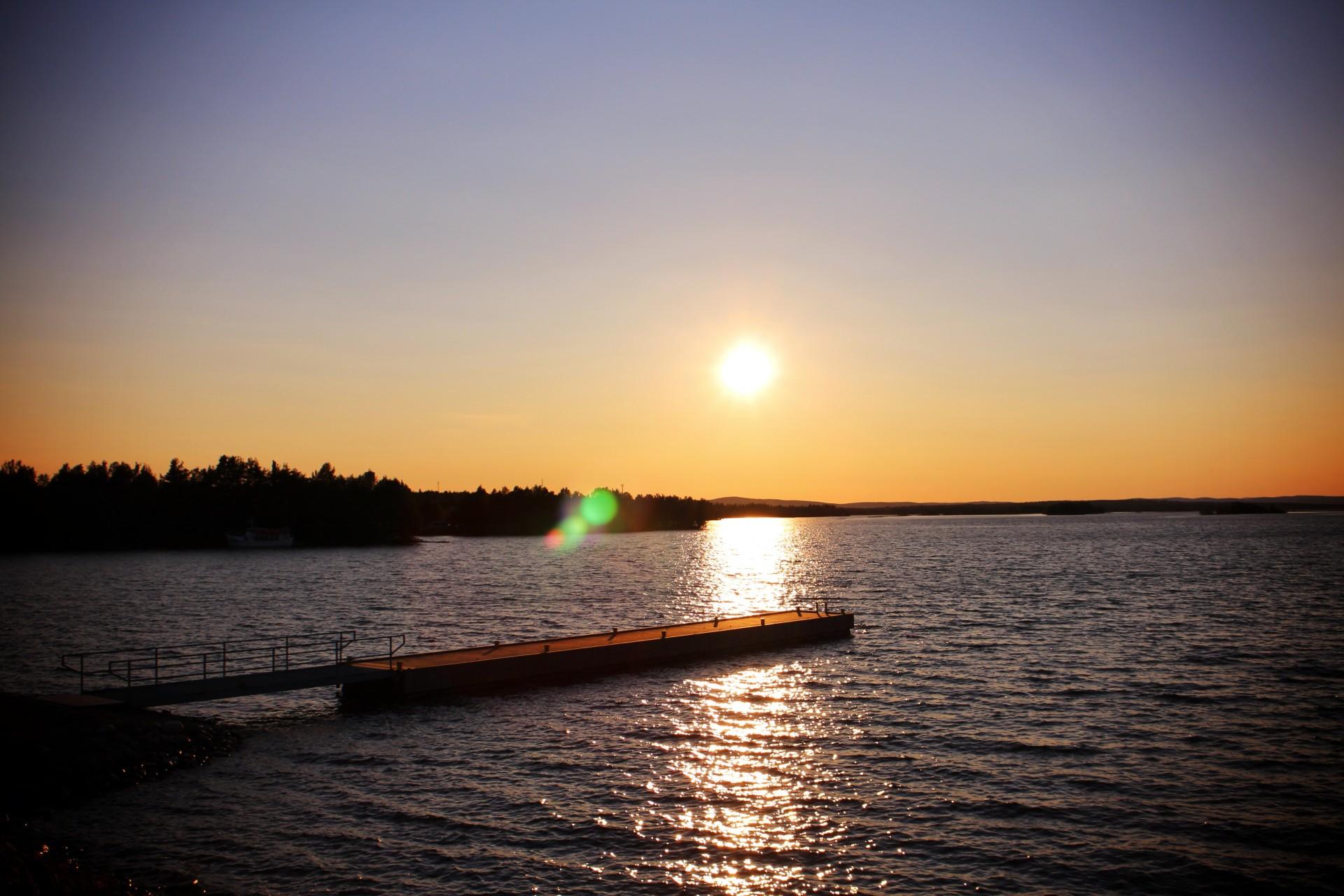 Lago en Finlandia