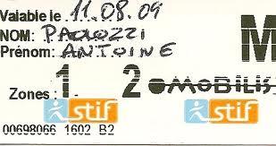Ticket t Mobilis