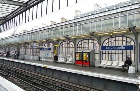 Estación La Chapelle
