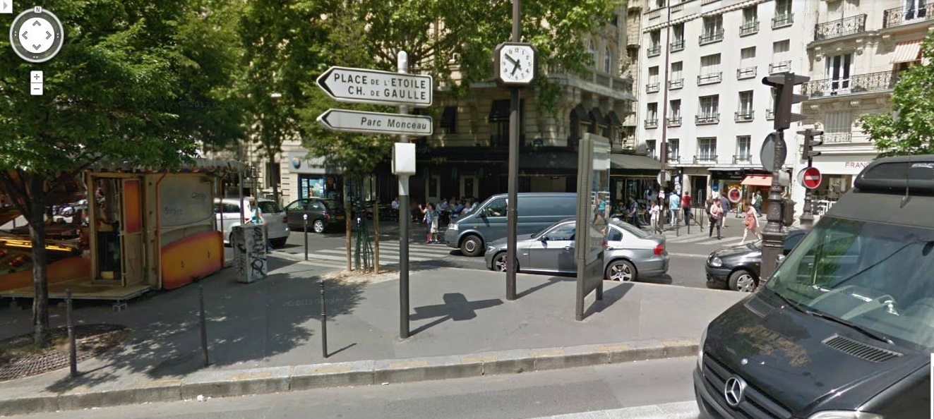 Hacia la calle Rue de Lévis