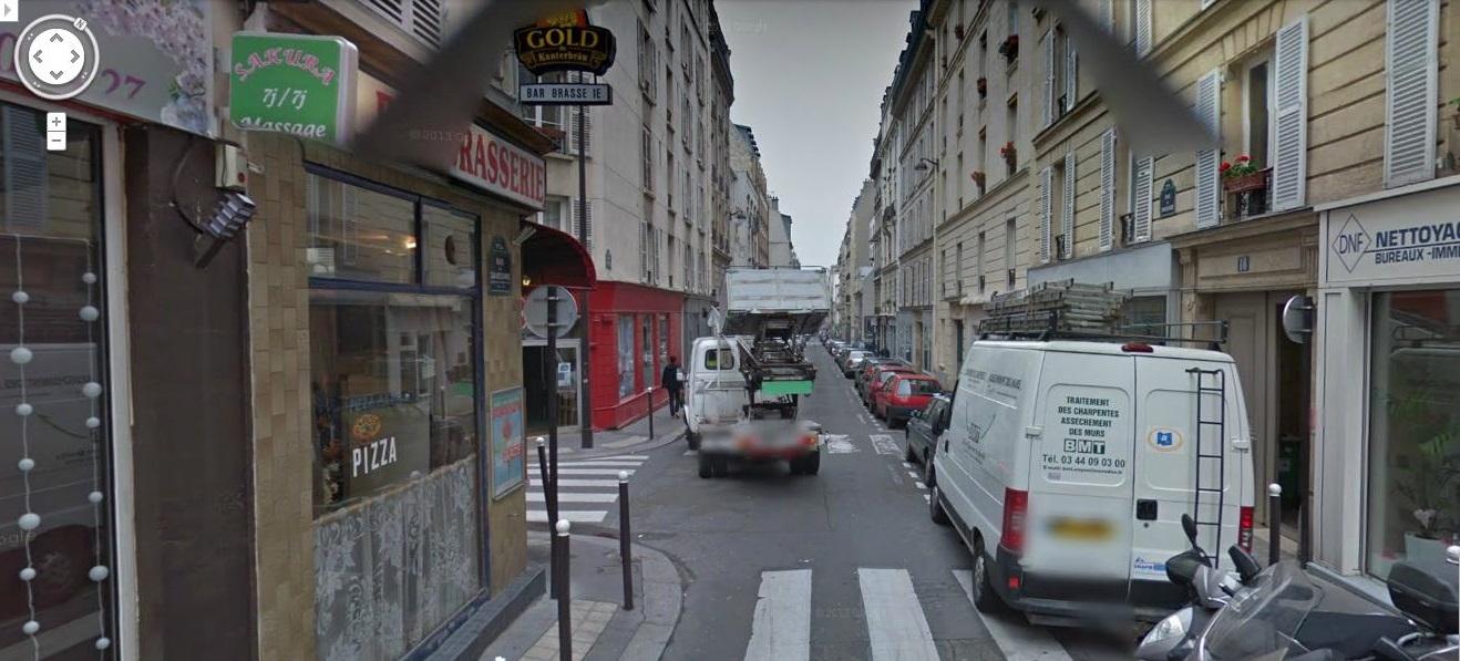 Rue de Saussure