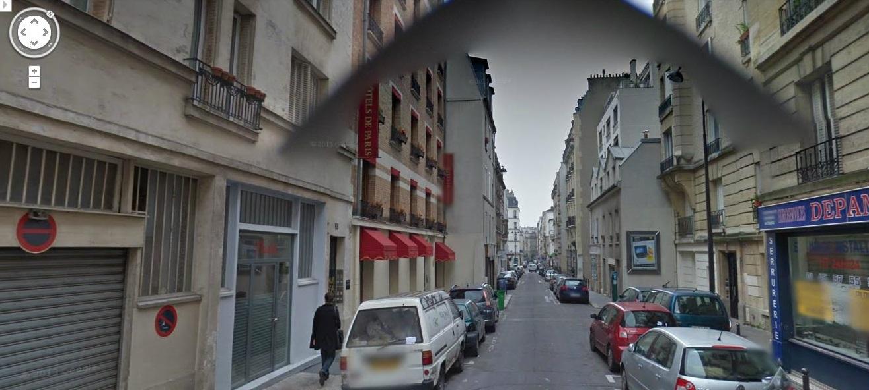 Vista del hotel del lado izquierdo