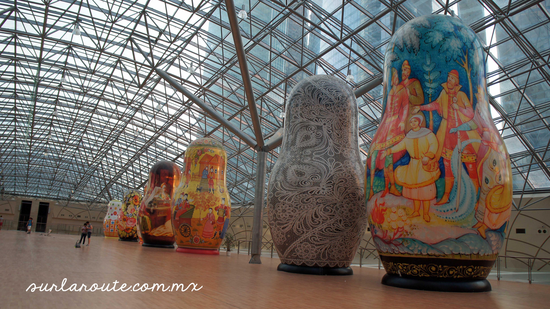Giant Matryoshkas - Гигантские матрешки