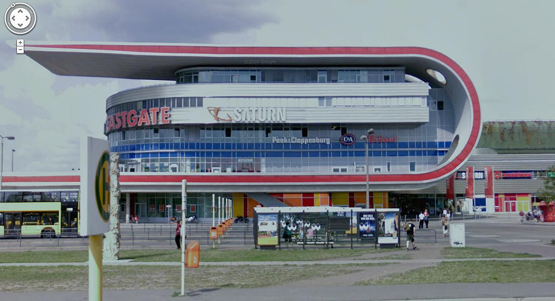 Shopping center at Marzahn, Berlin.