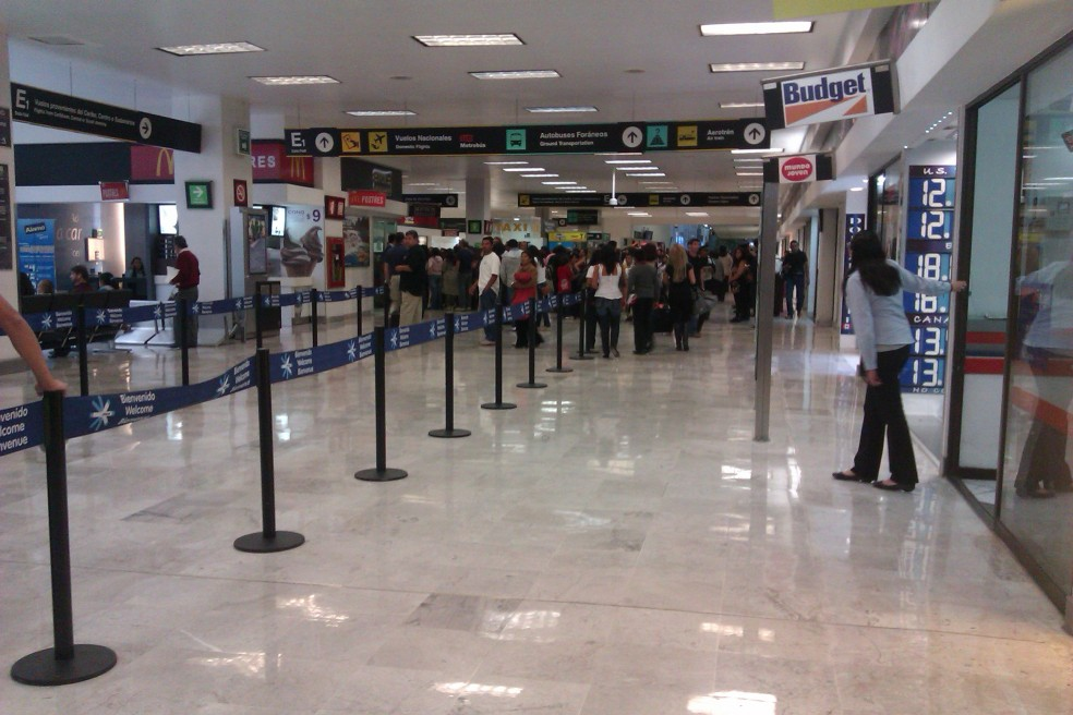 Mexico city's airport