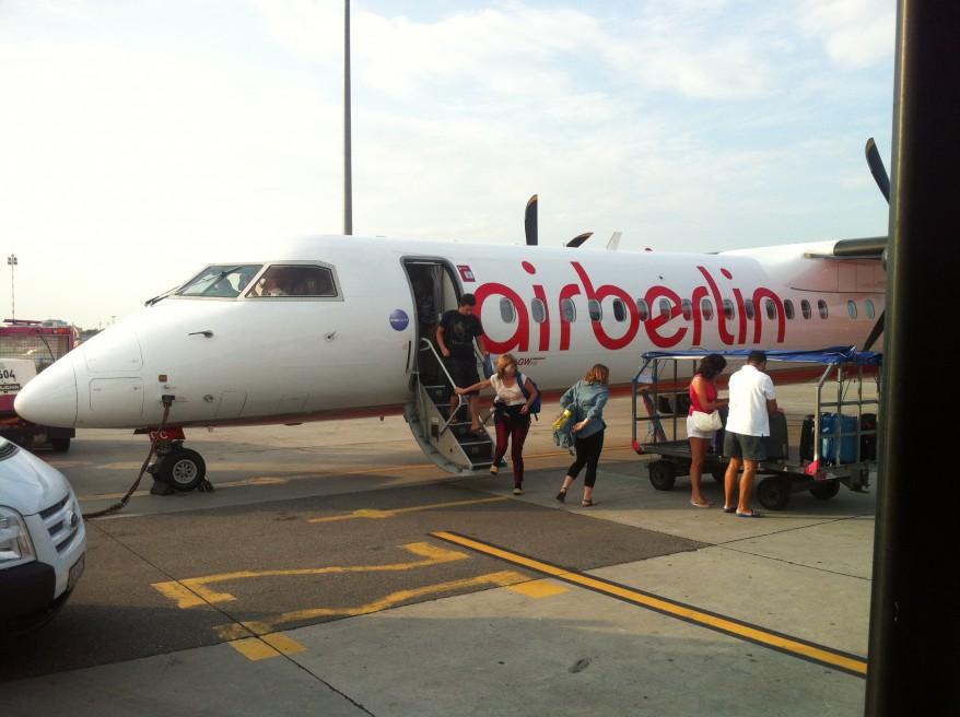 Llegando a Varsovia desde Berlín