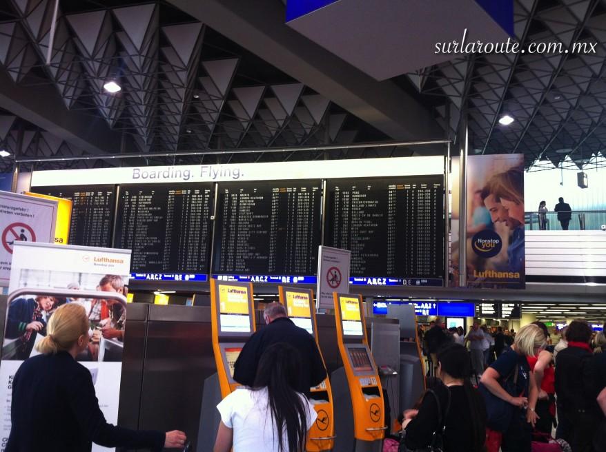 FraPort. Aeropuerto de Frankfurt, A.M. Alemania.
