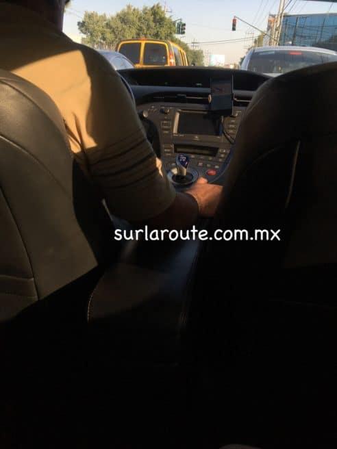 Conduciendo en Uber