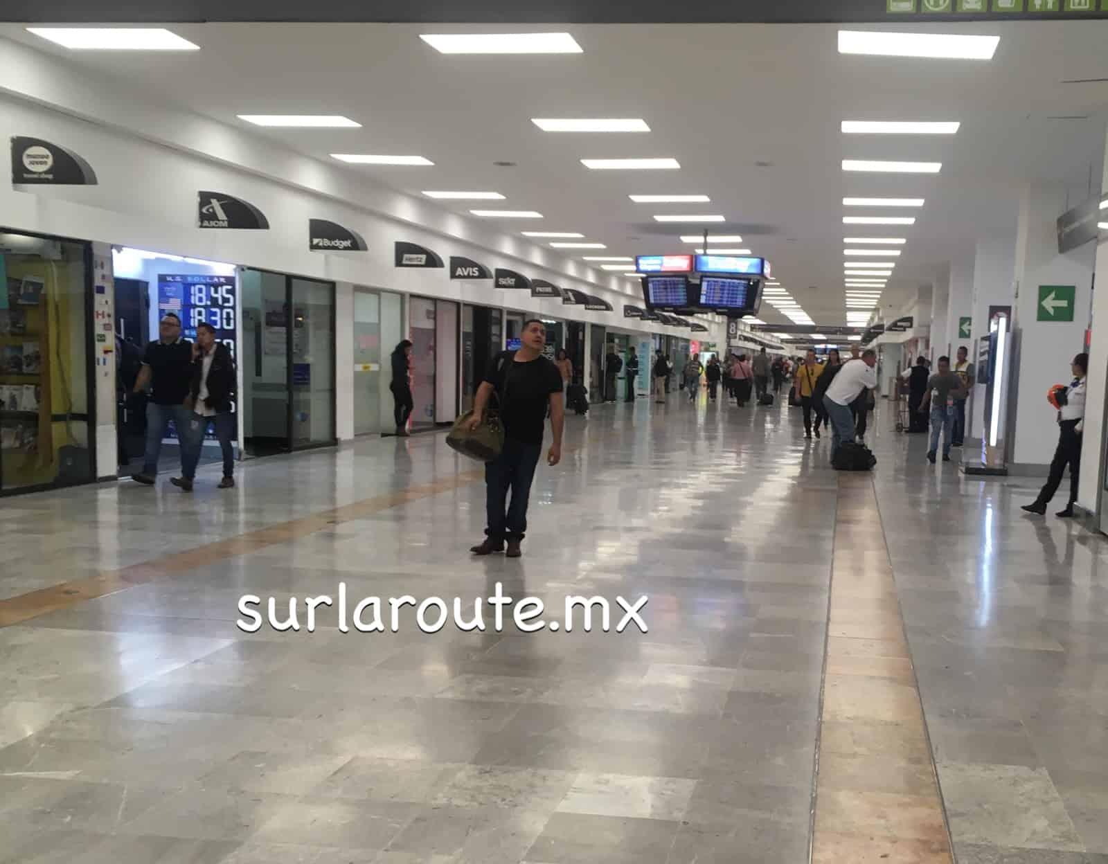 Aeropuerto Internacional de la Ciudad de México - cambio de divisas - casas de cambio