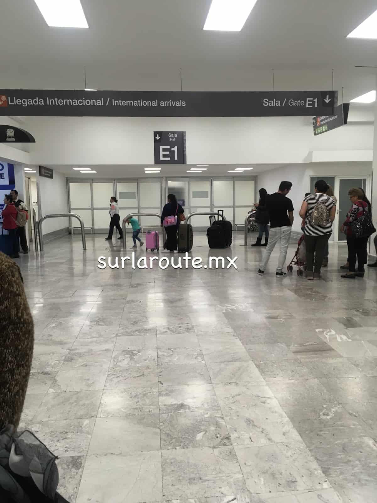 Sala E1 del Aeropuerto Internacional de la Ciudad de México