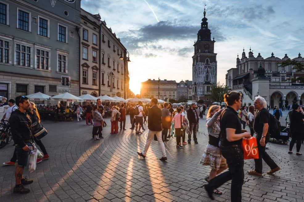 Kraków, Poland. Photo by Jacek Dylag on Unsplash